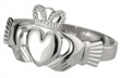 Men's Sterling Silver Claddagh Ring WBS2272