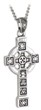 Pewter Style Celtic Cross Pendant WBS44116