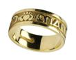 Ladies 14k Gold Mo Anam Cara (My Soul Mate) Wedding Band WBWED183